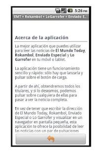 El Mundo Today + Rokambol- screenshot thumbnail