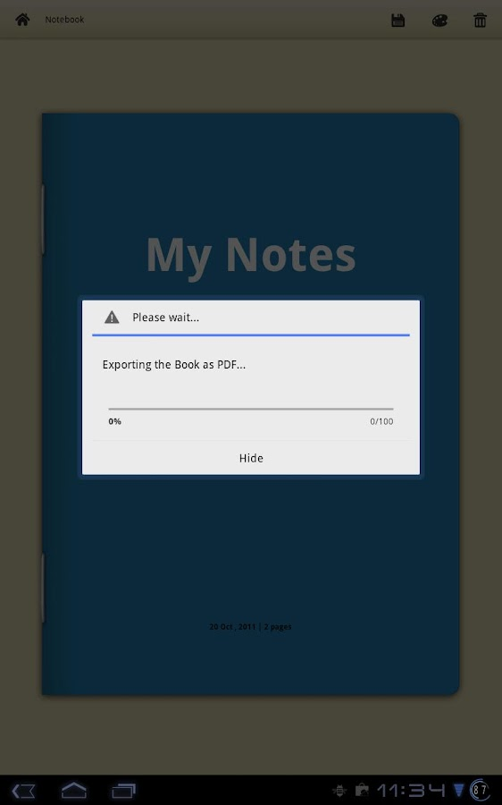 free writing apps for android
