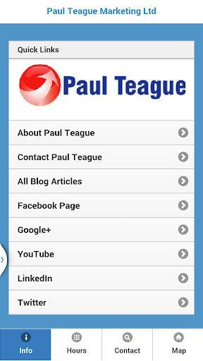 Paul Teague's Blog