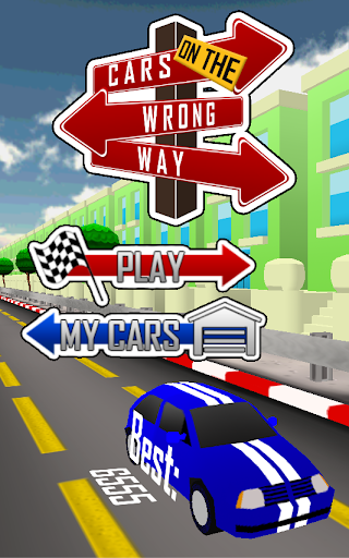Cars on the Wrong Way