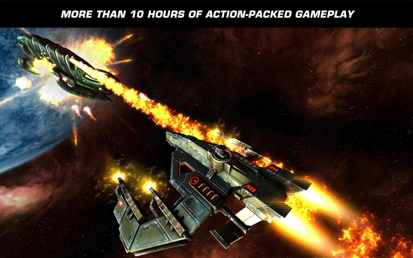 Screenshots of Galaxy on Fire 2™ HD for iPhone