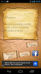 Kitap Cümleleri - screenshot thumbnail
