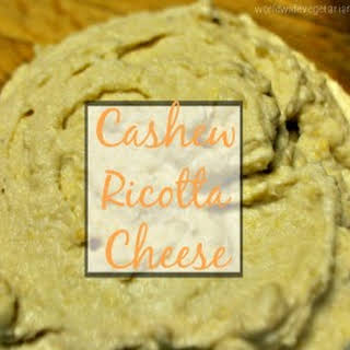 """Cashew """"Ricotta"""" Cheese."""