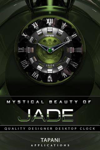 Luxus Clock Widget JADE