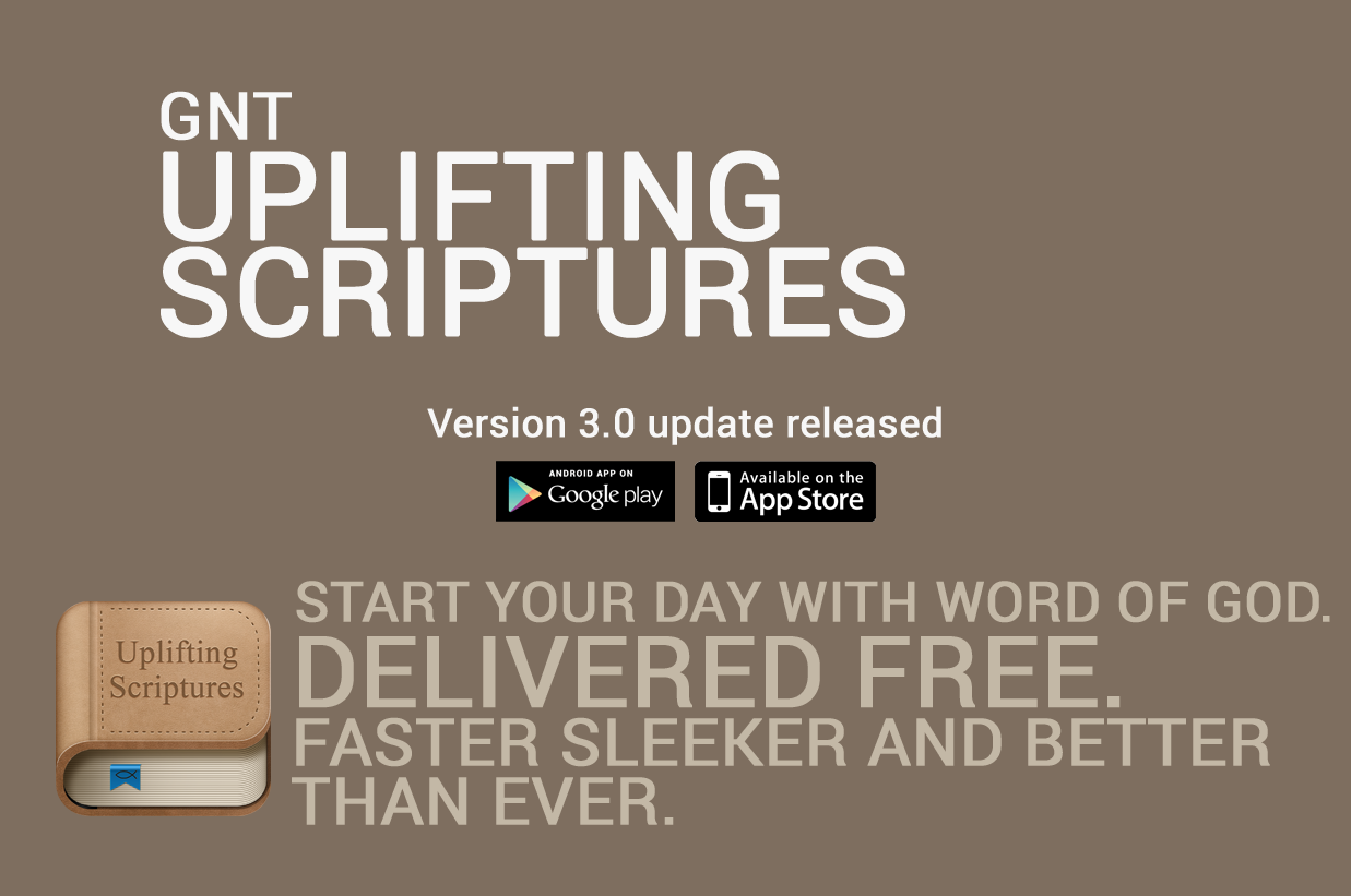 Uplifting Scriptures - GNT- screenshot