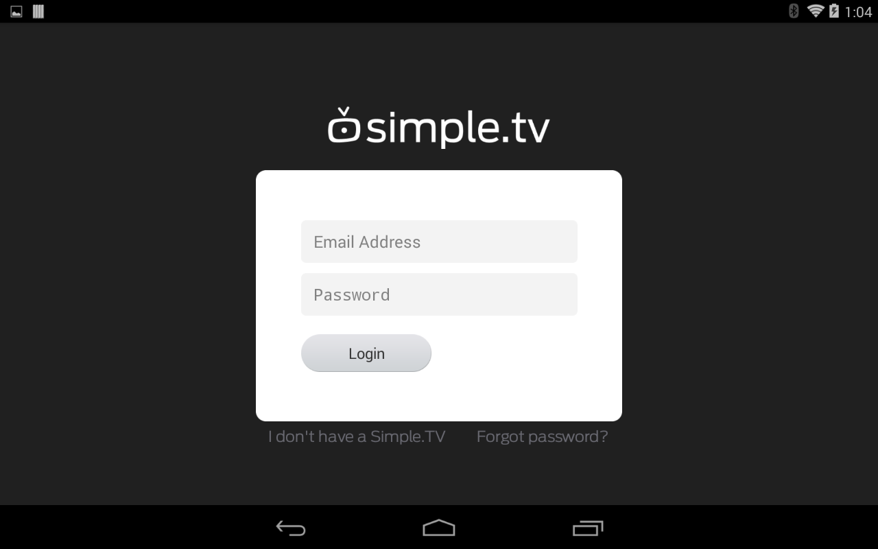 Simple.TV - screenshot