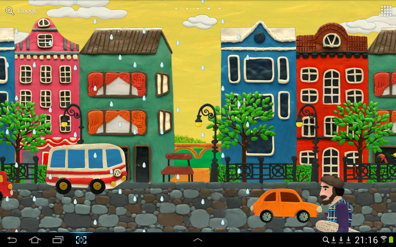 KM Town Live wallpaper- screenshot