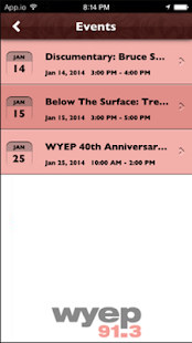 WYEP- screenshot thumbnail