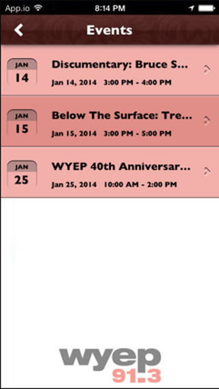 WYEP- screenshot