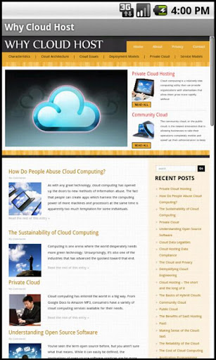 learn about cloud hosting