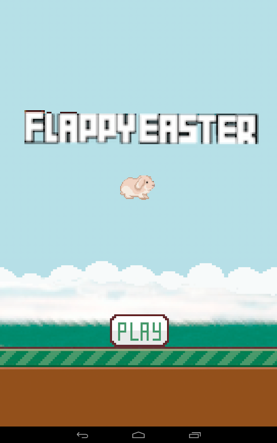 Flappy Easter- screenshot