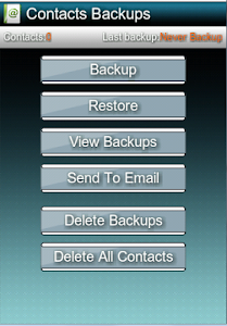 Backup & Restore Contacts/SMS screenshot 2