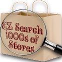 1EZ Search 1000s of Stores logo