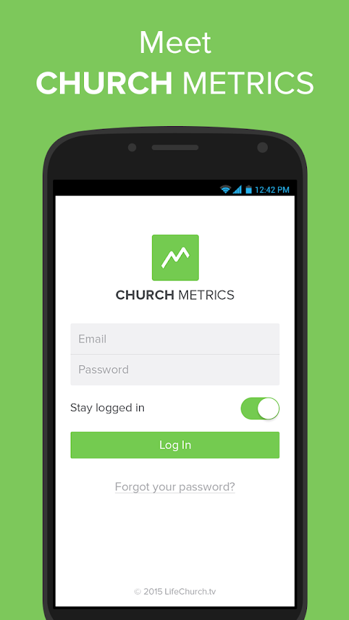 Church Metrics- screenshot