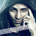 Arcangel Videos y Twitter icon