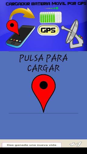 GPS cargador batería broma