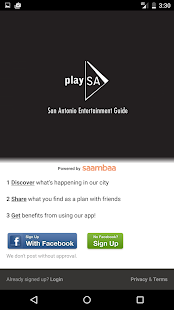 play SA - San Antonio Events - screenshot thumbnail