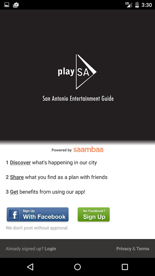 play SA - San Antonio Events - screenshot