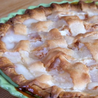 California Pear Pie