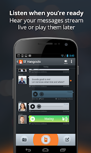 Voxer Walkie Talkie Messenger v1.4.1.0017