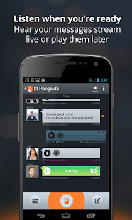 Voxer Walkie Talkie Messenger - screenshot thumbnail