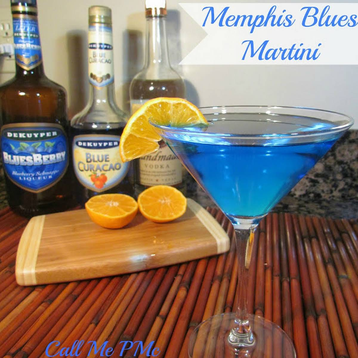 Memphis Blues Martini From The Peabody Call Me Pmc