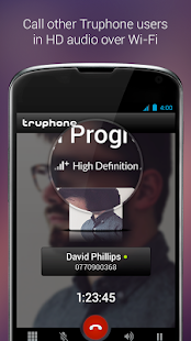 Truphone- screenshot thumbnail