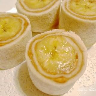 Banana & Cucumber Sandwich Rolls