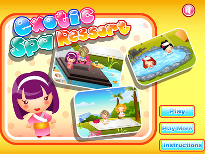 Exotic Spa Resort Game - náhled