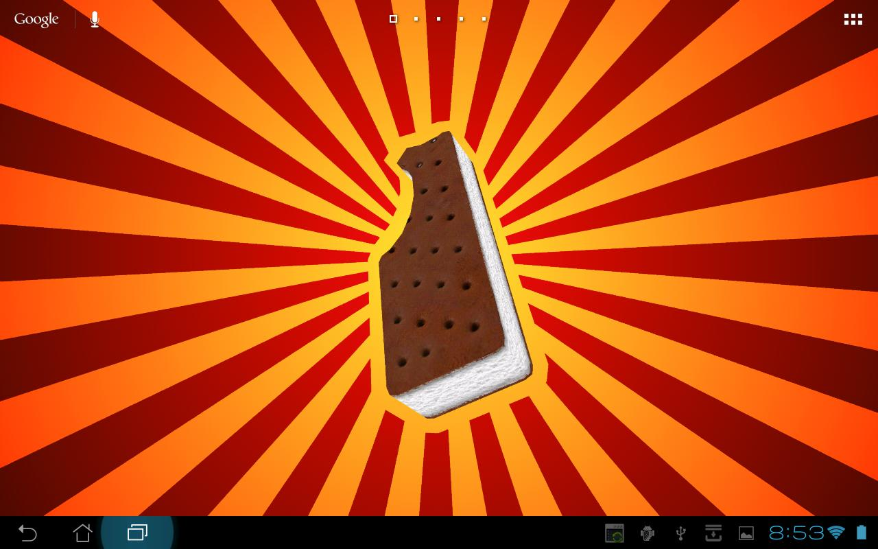 Ice Cream Sandwich 3D- screenshot