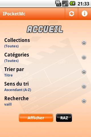 iPocketMc- screenshot
