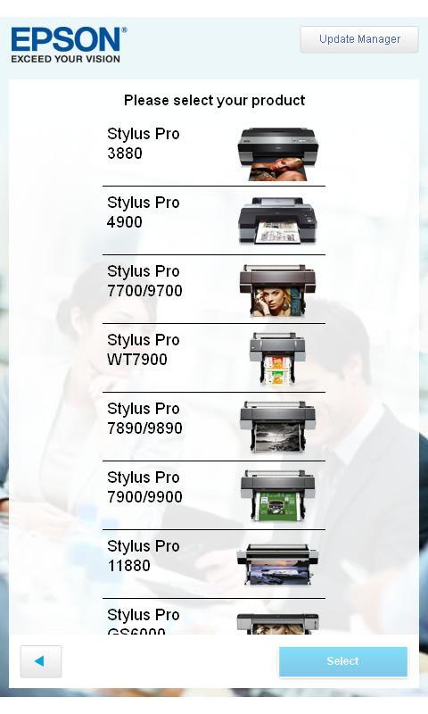 Epson LFP Ink Cost Calculator- screenshot