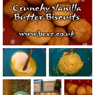 Crunchy Vanilla Butter Biscuits Recipe – Similar to Sugar Cookies UK