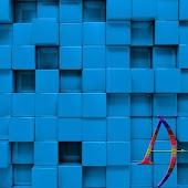 Blue Tiles - Theme By Arjun