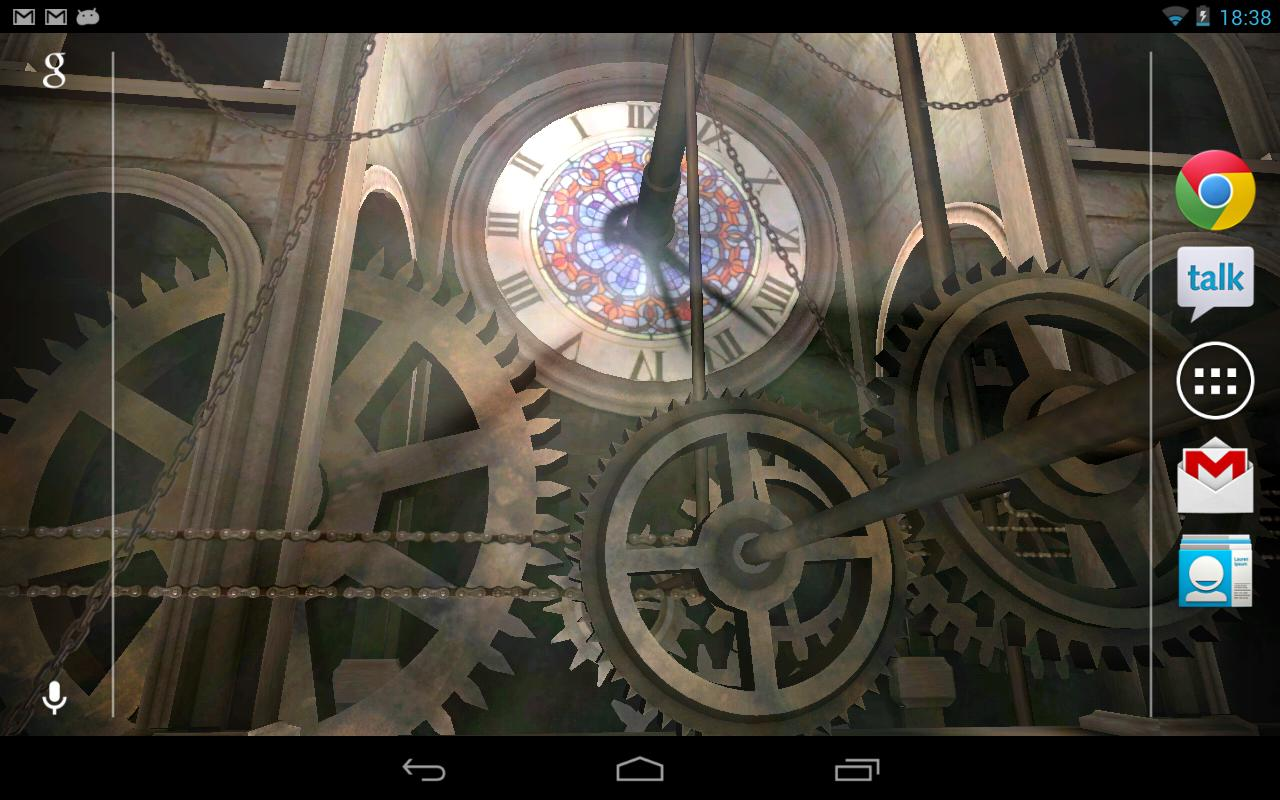 Clock Tower 3D Live Wallpaper- screenshot