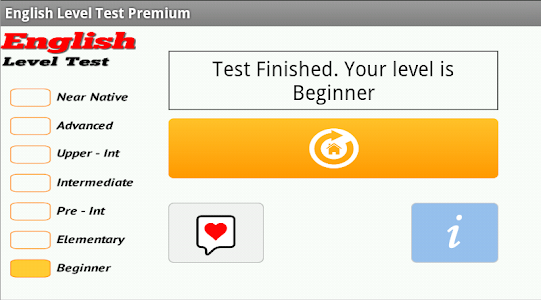 English Level Test Premium v2.0