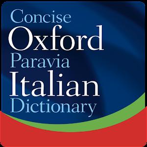 Concise Oxford Italian Dict
