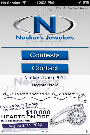 Necker's Diamond Dash