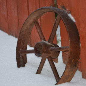 Wagon wheel by Amanda Skipworth - Artistic Objects Other Objects (  )
