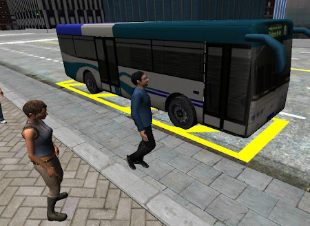 3D City driving - Bus Parking 1.2 screenshot 639148