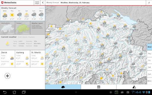 免費下載天氣APP|MeteoSwiss app開箱文|APP開箱王