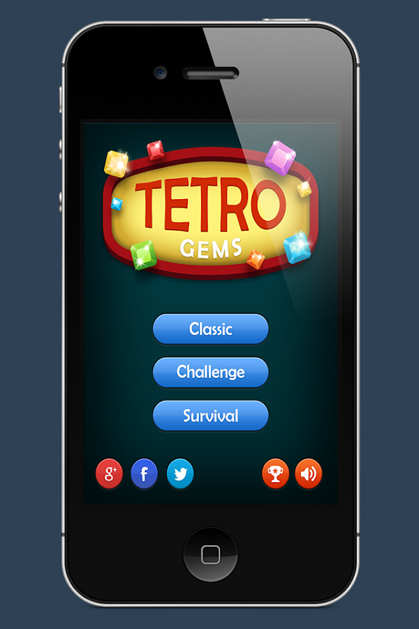 TETRO GEMS - SWIPE 3- screenshot