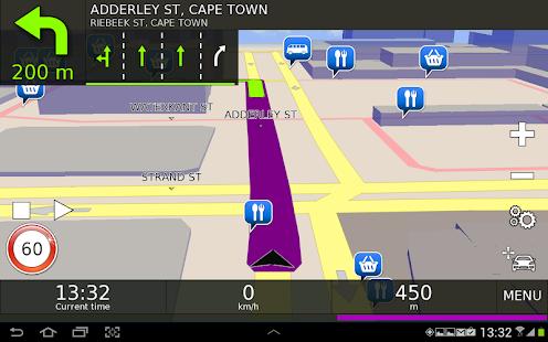 Desnav GPS Navigation (Navteq) - screenshot thumbnail