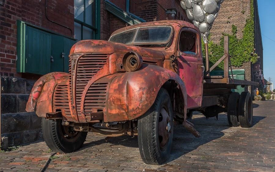 Old Fargo Truck by Jack Brittain - Transportation Automobiles ( canada, truck, distillery district, toronto, fargo, ontario, dodge,  )
