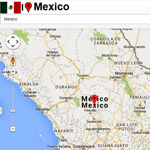 Mexico Mapa