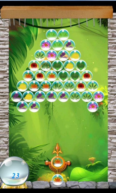 Leaf Bubble Shooter - screenshot