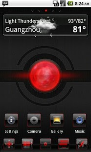 Renix Theme GO Launcher EX - screenshot thumbnail