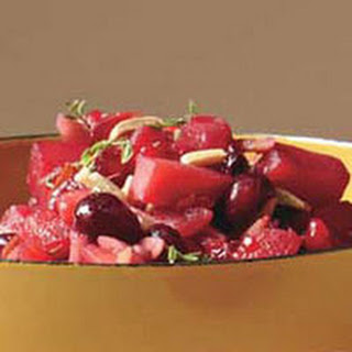Apple-Almond Cranberry Relish