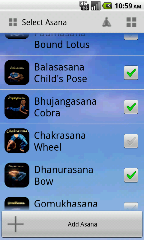 Dive into Yoga- screenshot