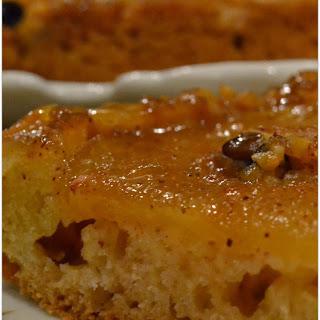 Automn Cake with Caramelized Apples, Cinnamon & Nutmeg